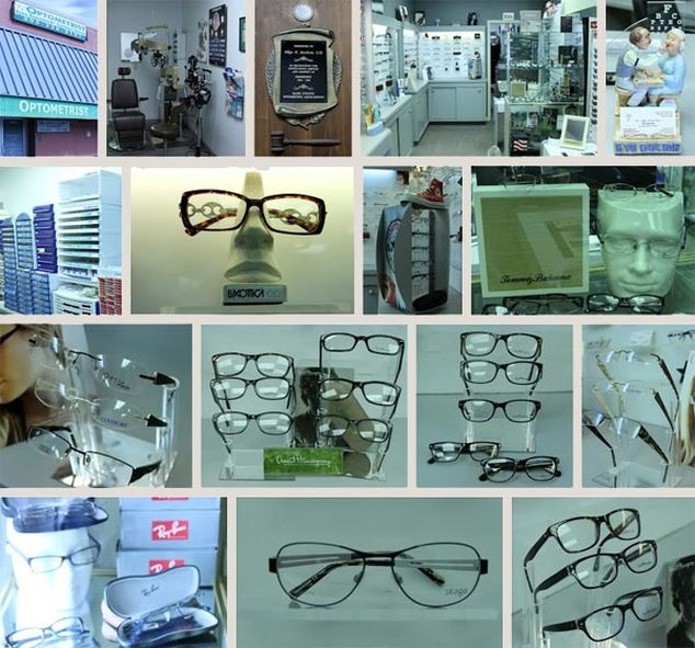 full service optical featuring designer eyewear and sunglasses